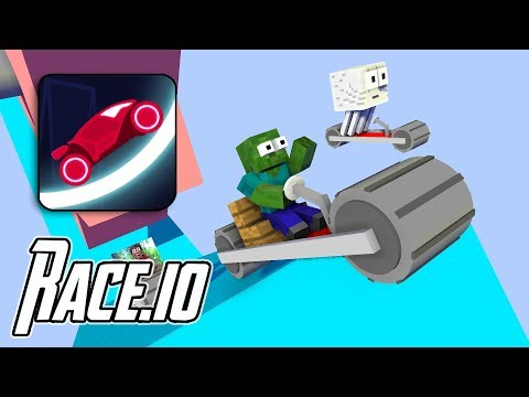 Download Monster School : RACE.iO CHALLENGE - Minecraft Animation HD Mp4 3GP Video and MP3