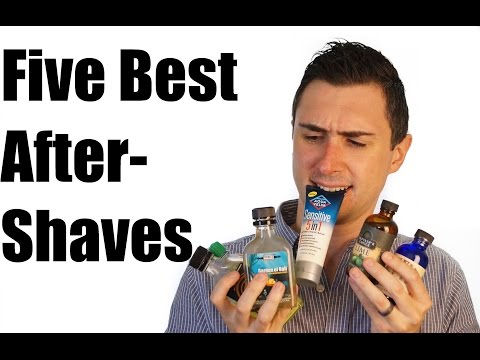 Five Best Aftershaves For Men!