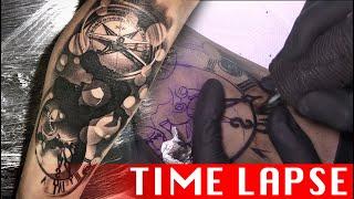 Family - Tattoo Time Lapse
