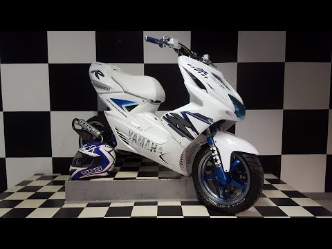 [Yamaha Aerox Tuning Story 2017] High end build