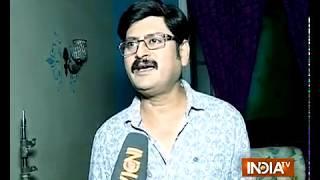 Banana leaves wrapped Tiwariji is in jail