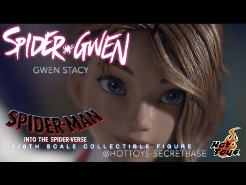 HOT TOYS Spider-Gwen   PROTOTYPE   Into the spider-verse