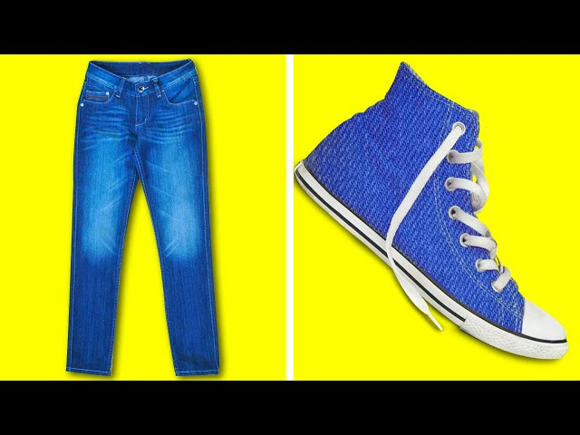 38 CREATIVE HACKS WITH YOUR OLD SHOES AND CLOTHES