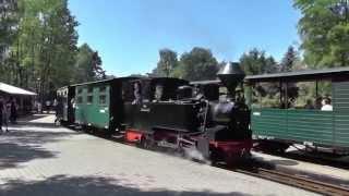 preview picture of video 'Pfingsten 2014 bei der Waldeisenbahn Bad Muskau'