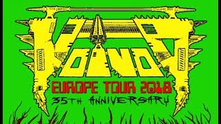 Voivod (CAN) - Live at Cathouse, Glasgow 5th October 2018 FULL SHOW HD