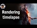 Battlefield 1 frame rendering timelapse