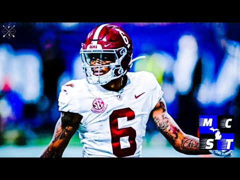 Detroit Lions Can't Pass Up on Alabama Wr Devonta Smith!!!
