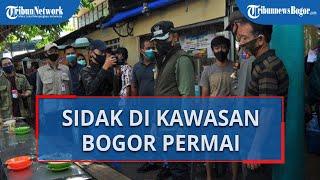 Disidak Wali Kota Bima Arya, Pembeli Siomay dan Es Sekoteng di Bogor Permai Membubarkan Diri