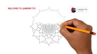 Drawing A Best Flower, Coloring Pages For Kid, How To Drawing Flowers