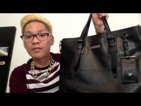 MiCHAEL KORS MEN's SAFFiANO TOTE REViEW