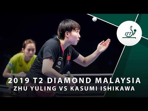 Zhu Yuling vs Kasumi Ishikiwa  | T2 Diamond Malaysia (R16)