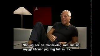Giorgio Armani Interview