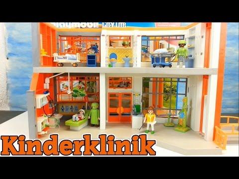 Playmobil Kinderklinik 6657 Neuheit auspacken aufbauen Krankenhaus