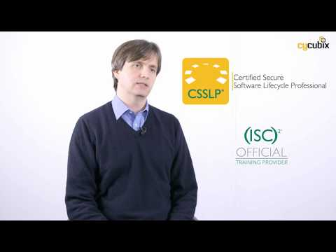 Introduction to the ISC2 CSSLP Certification - YouTube
