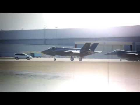 First F-35A Arrives at Luke AFB