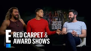 "JUSTICE LEAGUE | E! News : ""Justice League"" Cast Play 'Most Likely To' Game"