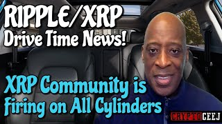 XRP RIPPLE NEWS XRP COMMUNITY IS FIRING ON ALL CYLINDERS