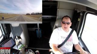 TRUCKER RUDI (What) where am I going 02/25/17 Vlog#991