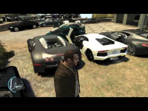 GTA 4 Real Cars Mod - My Car Collection