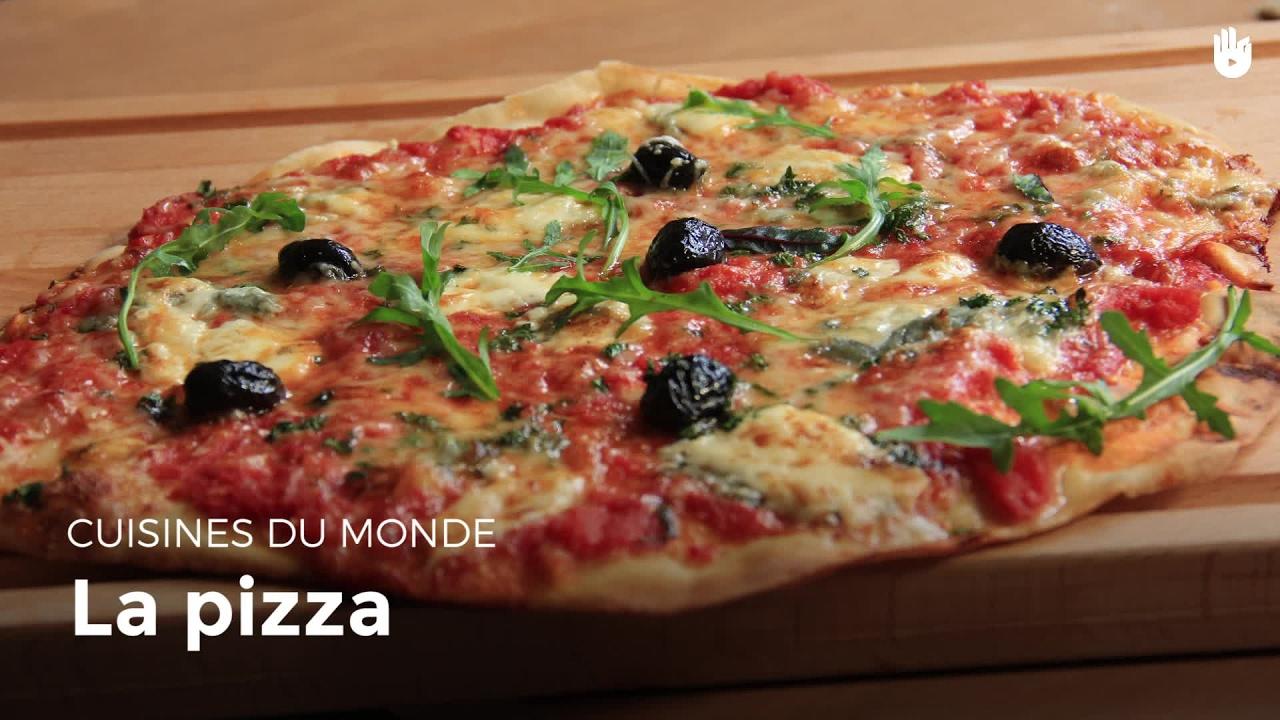 Pizza apprendre cuisiner sikana - Apprendre a cuisiner facile ...