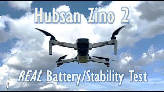 Hubsan Zino 2 - Stability and Battery test - Can it compete with DJI?