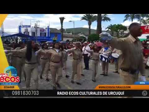 UEMY Banda musical  desfile cívico de Urcuqui 2020