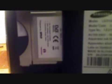Samsung Serie 6 TV - CI-Plus Modul Probleme beheben -  Karte richtig einlegen