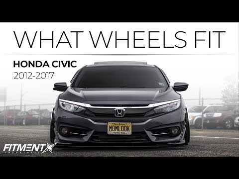 What Wheels Fit: Honda Civic 2012-2017