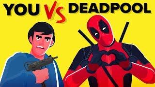 YOU Vs DEADPOOL -  How Can You Defeat And Survive Him (Disney Marvel Comics Deadpool Movie)