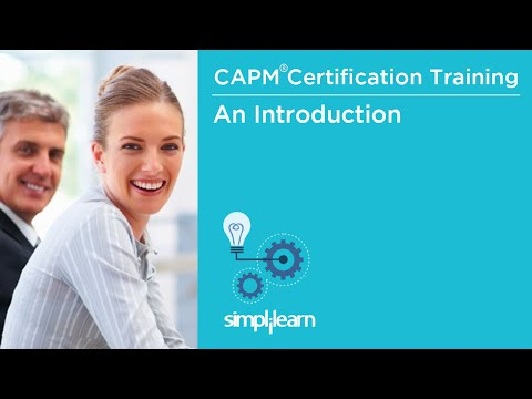 What Is CAPM And PMI | CAPM® Certification Training | Simplilearn ...