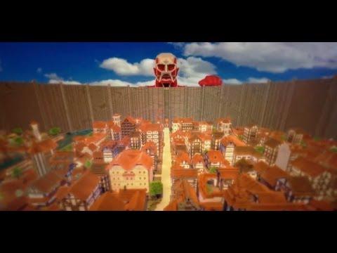 Attack On Titan In Minecraft Even Has A Colossal Titan