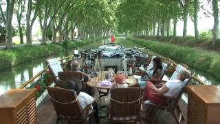 Canal du Midi Cruise on board the Anjodi hotel barge