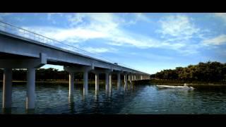 preview picture of video 'GAUFF - Straßenbauprojekt Port-Gentil – Omboué in Gabun'