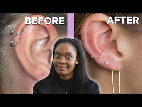 We Got Custom Ear Piercings