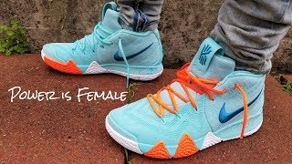the best attitude 2695b 7ad72 nike kyrie 4 on feet - Free video search site - Findclip.Net