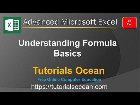 Part 5: Advanced Excel Course – Understanding Excel Formula Basics in Urdu/Hindi – Tutorials Ocean