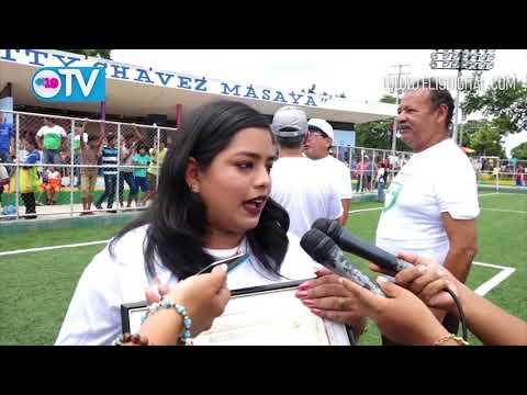 """Juventud de Masaya cuenta con """"Complejo Deportivo Arnoldo y Maty Chávez"""""""