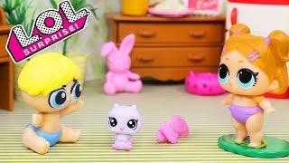 😀Куклы ЛОЛ Смешные Мультики #17 Игрушки Для девочек с куклами lol dolls