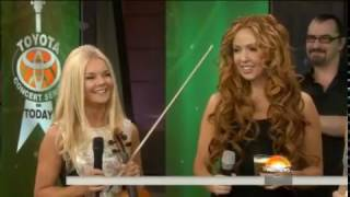 Celtic Woman serenade studio with Irish medley TODAY com