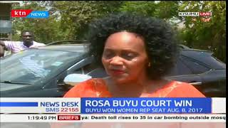 Petition challenging the election of Kisumu Woman Representative Rosa Buyu dismissed