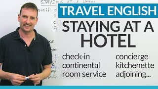 Real English for staying at a HOTEL | Kholo.pk