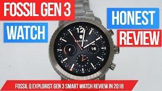 Fossil Q Explorist Gen 3 Smart Watch Review - Fossil Gen 3 Smartwatch review in 2018!