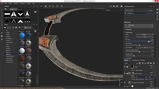 Daedric Crescent texturing