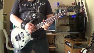 Arch Enemy - The Last Enemy - Guitar Cover