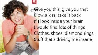 I Want - One Direction (with lyrics)