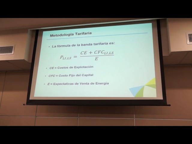Sesión explicativa de propuesta tarifaria para plantas solares nuevas