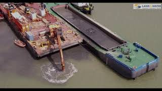 Aerial filming at Harwich International Port