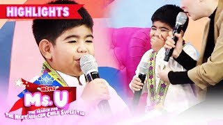 Yorme recites a poem titled 'Batang Bibo' | It's Showtime Mini Miss U