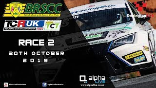 TCR UK Race 2 LIVE from Donington Park