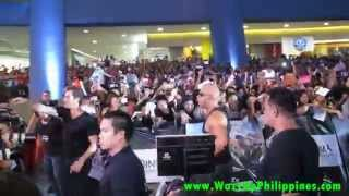 fast and furious 6 movie red carpet philippine premiere   Vin Diesel